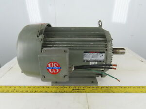 Us Electrical 15hp 3540rpm 3ph 230 460v 254t Electric Ac Motor 254t Frame