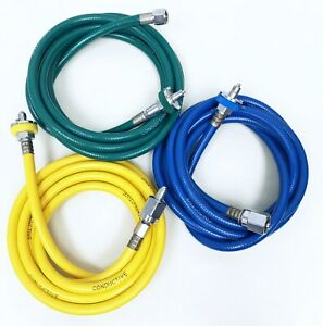 Drager Ohmeda Anesthesia Machine Air O2 N2o Hoses With Fittings