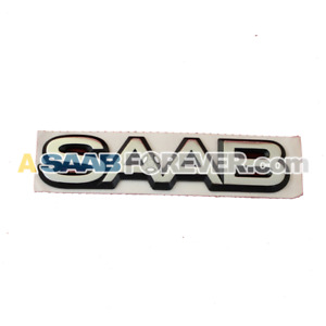 New Genuine Saab 9000 Emblem Badge 94 98 Cse Cs Aero Rare Saab Text 4435947