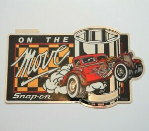 Snapon Tools Vintage Decal On The Move Ssx 1091 New