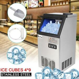 Upgrade 110lb 50kg Built in Commercial Ice Maker Freestand Ice Cube Machine 2020