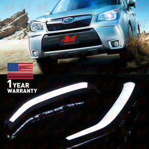 Drl For Subaru Forester 2 0xt 2013 2014 2015 Fog Lamp Led Daytime Running Light