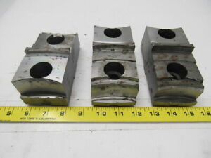 Daco Lathe Chuck Top Jaws 5 3 8 X 2 1 16 X 2 1 2 Lot Of 3
