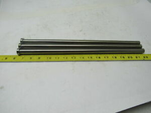 Plastic Injection Mold Ejector Pin 16mmx 300mm Lot Of 3