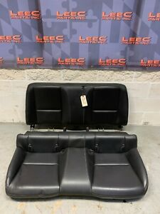 2012 Chevrolet Camaro Ss Oem Black Leather Rear Seats