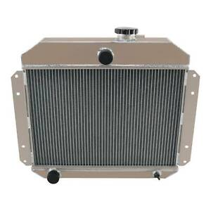 2 Row Aluminum Radiator For 1951 1953 Willys Truck Pickup 2 6l L6 Aap