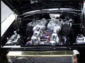 Bbc Twin Supercharger Efi Roots Blower Big Block Chevy Ls 1000 Hp Xfi Management