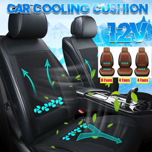 8 Fans Cool Car Seat Cover 12v Comfortable Car Seat Cushion With Cooling Summer