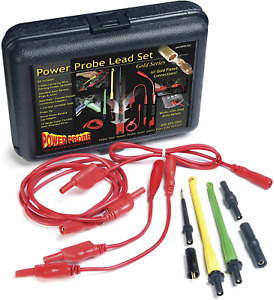 Power Probe Lead Set Car Diagnostic Test Tool Piercing Probes Multi strand Wires