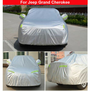 Car Cover Waterproof Sun Dust Rain Protection For Jeep Grand Cherokee 2011 2021