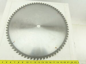 20 Non ferrous Metal Cutting Circular Saw Blade 72 Tooth Carbide Re sharpened
