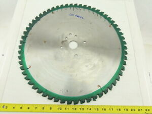18 Non ferrous Metal Cutting Circular Saw Blade 60 Tooth Carbide Re sharpened