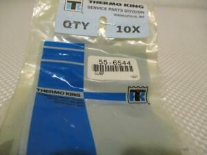 One New Lot Of 10 Thermo King 1 4 Single Tube Clamps 55 6544