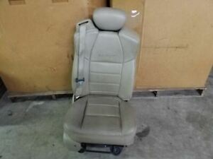 Front Right Passenger Seat Bench 40 20 40 Tan Leather Fits 01 04 Ford F250 F350