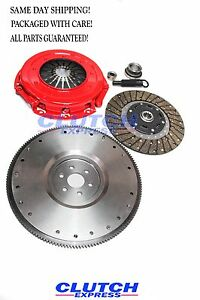 A F Stage 1 Clutch Kit Iron Flywheel 1986 1995 Ford Mustang 5 0l 302 Engine