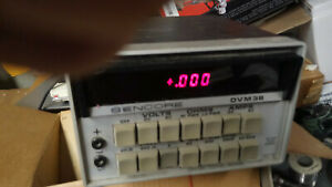 Sencore Dvm 38 Multimeter Bench Lab Used To Test Instruments W manuals