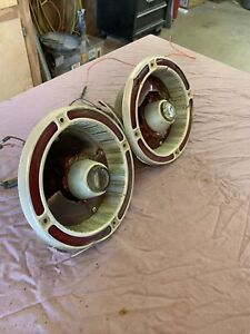 63 Ford Fairlane 500 Rh Lh Rear Taillight Tail Light And Housings