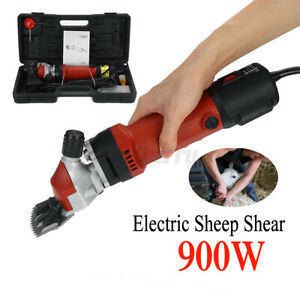 900w 110v Electric Shear Shearing Clipper Animal Sheep Goat Pet Farm Machine Usa