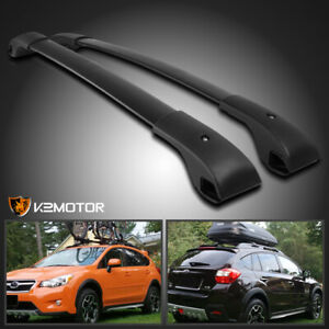 For 10 17 Subaru Impreza Crosstrek Aluminium Rooftop Crossbar Luggage Cargo Rack