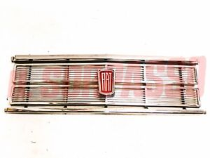 Panel Grill Grille Coat Of Arms Fiat 125 Special Original