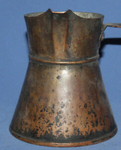 Antique Hand Crafted Copper Serving Coffee Pot