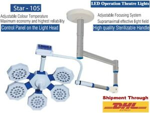 Examination Surgical Led Operation Theater Light Single Ceiling Mobile Ot Lamp