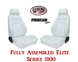 Procar Full Bucket Seats 80 1100 53 Elite For 1983 1993 Ford F Series Trucks