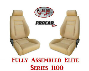 Procar Full Bucket Seats 80 1100 54 Elite For 1983 1993 Ford F Series Trucks
