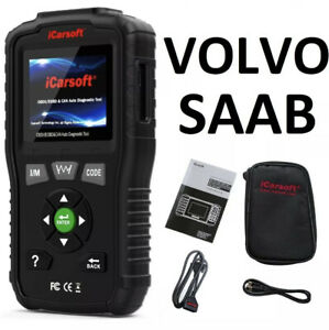 Volvo Saab Professional Diagnostic Scanner Tool Code Reader Abs Srs Airbag