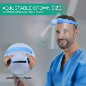 New Anti Splash Adjustable Frame With Protective Shields Guard Safety Dental Us