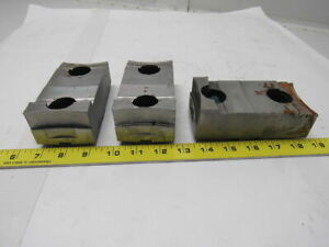 05 201458 Lathe Chuck Top Jaws 5 1 16 X 1 11 16 X 2 1 2 Lot Of 3