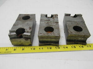 Daco Lathe Chuck Top Jaws 5 X 1 5 8 X 2 1 2 Lot Of 3