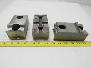 Daco Lathe Chuck Top Jaws 5 X 1 7 8 X 2 1 2 Lot Of 3