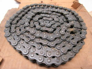 Link Belt 50 Riveted Single Row Roller Chain 5 8 Pitch 10 Ft 192 Pitches