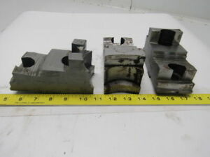 Daco 05 201458 Lathe Chuck Top Jaws 5 5 8 X 2 7 8 X 2 1 2 Lot Of 3