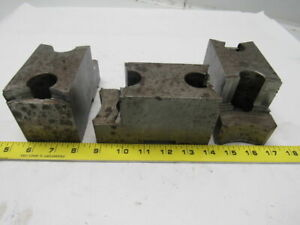 Daco M2320b10p Lathe Chuck Top Jaws 3 1 8 X 3 X 2 1 2 Lot Of 3