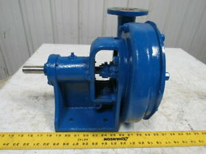 Stainless Steel 2x1 1 2 End Suction Centrifugal Chemical Pump W 8 Impeller