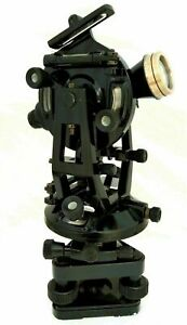 Antique Aluminium Theodolite transit Surveyors Alidade Test Level Instruments