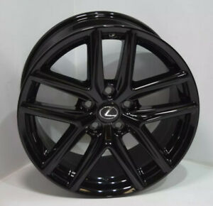 18 Lexus Is250 Is F Sport Black Factory Oem 18 Inch Wheel Rim Rear