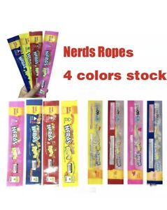 50 Nerds Rope Empty Ziplock Packaging Bags Only Super Fast Shipping