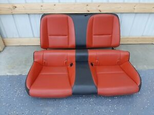 2012 2015 Camaro Commemorative Edition Oem Rear Seats Adrenaline Red U54