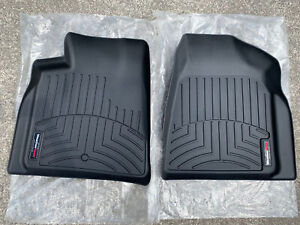 Weather Tech Black Front Floor Mats Gmc Acadia Saturn Outlook 2007