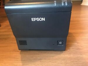Epson Tm t88v dt Intelligent Direct Thermal Pos Receipt Printer M287d W Adapter