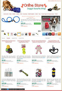 Dog Supplies Store Amazon Ebay commission Junction Affiliate Website