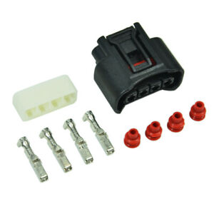 Ignition Coil Plug Connector Kit 90980 11885 Fits Toyota Corolla Zze120 Nze121