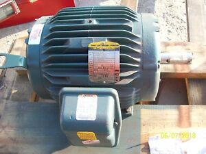 New Ectm3774t 10 Hp 1760 Rpm Baldor Electric Motor Air Overhp