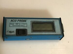 Edl Digital Acu probe Type J Thermocouple 280 To 1100 F