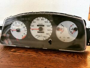 Spoon Sports Signed By Tatsuru Ichishima Honda Civic Sir Eg6 Mt Gauge Cluster