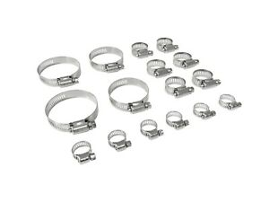 Fomoco Stainless Steel Hose Clamp Kit