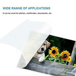 A4 Thermal Laminating Film For Photo Files Card Picture Lamination Pouch Films